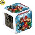 USB-Charger-2-AG13-Batteries-Alvin-and-the-Chipmunks-LED-reloj-despertador-LED-7-Color-font