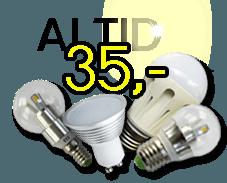 Billig LED lys